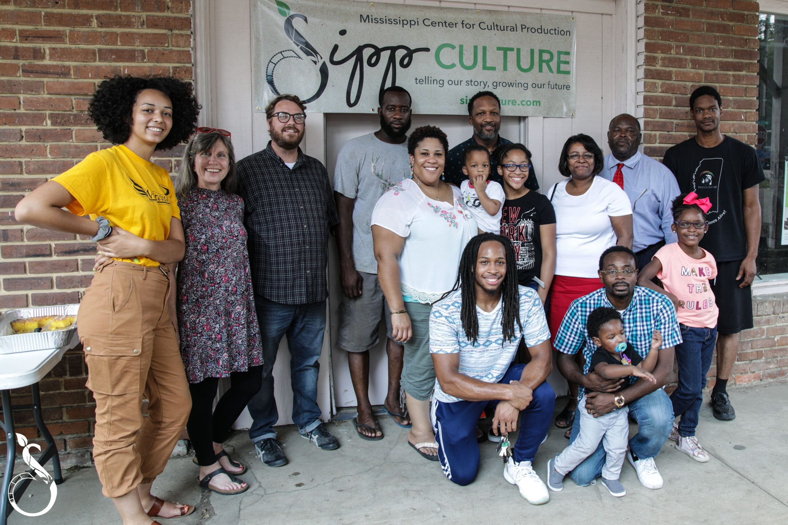 Sipp Culture community members at Pop Up Cafe
